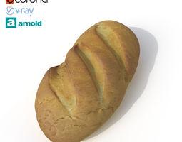 Bread bread 3D model