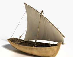 3D Dhow Boat