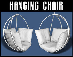 3D model Hanging chair furniture