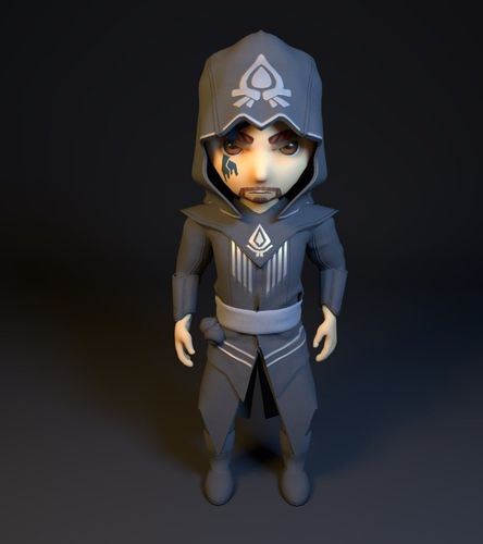 3d Model Assassins Creed Rebellion Character Cgtrader