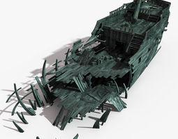 shipwreck 03 3d