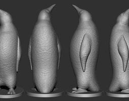 Pinguin printing 3D print model
