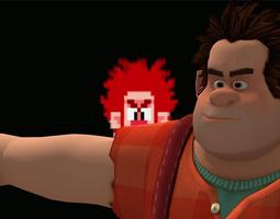 Wreck It Ralph 3D model rigged