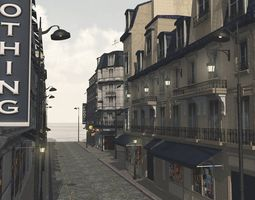 European Street for Vue 3D