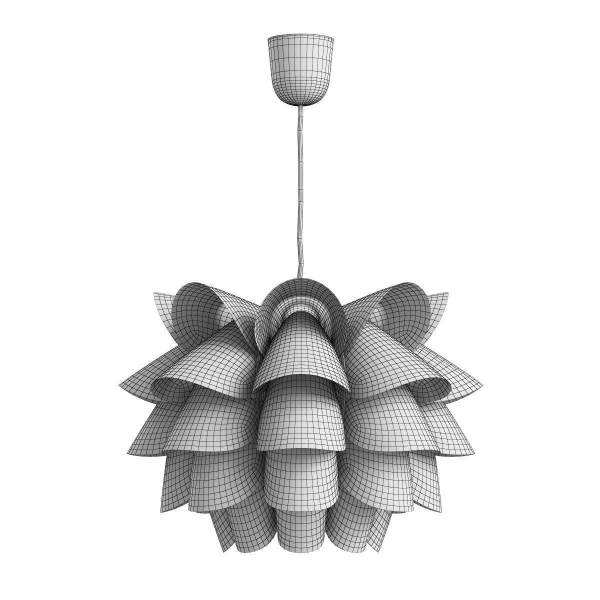 ... Ikea Knappa Pendant Lamp 3d Model Max 2 ...