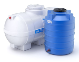 3D Plastic Water Storage Tanks