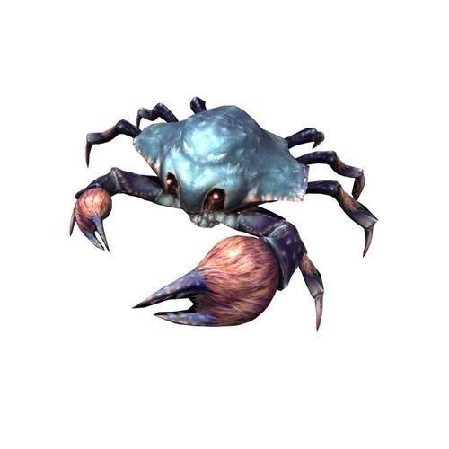 rigged crab 3d model rigged obj mtl fbx ma mb dwg tga mel 1