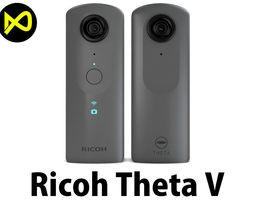 3D model Ricoh Theta V 360 Spherical Camera