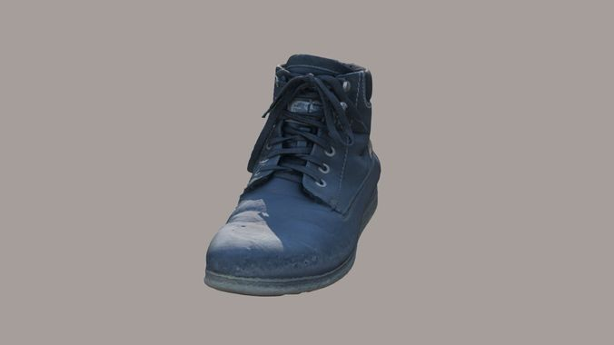boots 3d model obj mtl 3ds fbx tga 1