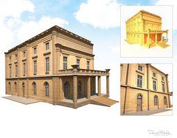 Public Building 187 Low Poly 3D model