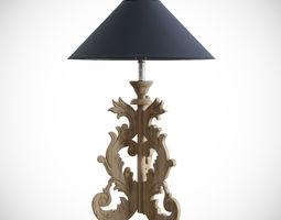 Table-lamp DIALMA BROWN ACCESSORI 3D