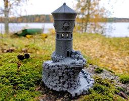 3D print model Forbidden Watchtower