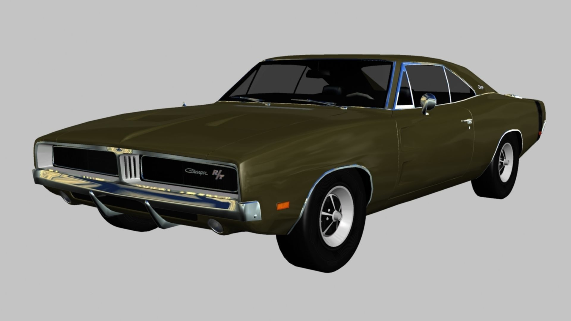 dodge challenger rt 1971 3d model | cgtrader