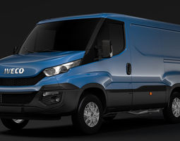 delivery Iveco Daily Window Van 2014-2016 L1H1 3D