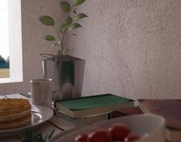 3D Morning - Interior Scene