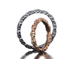 Skull band ring 3d model 0183