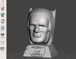 BATMAN Captain Action mask shaped PENCIL 3D print model