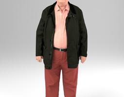 men 01 - 3D scanned printable human