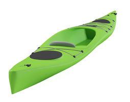 canoe animated 3d