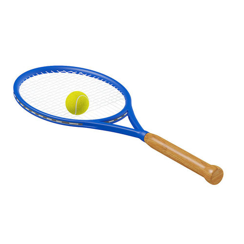 Tennis Racket And Ball 3d Model Animated Max Obj Mtl Fbx C4d