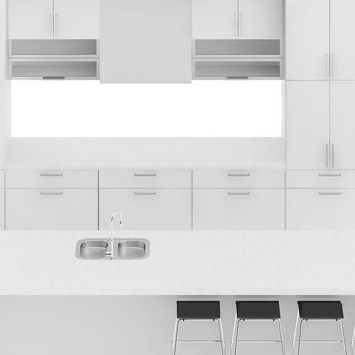 kitchen furniture set 9 3d model max obj mtl fbx c4d 1