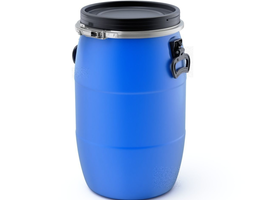 3D model Plastic Barrel reservoir