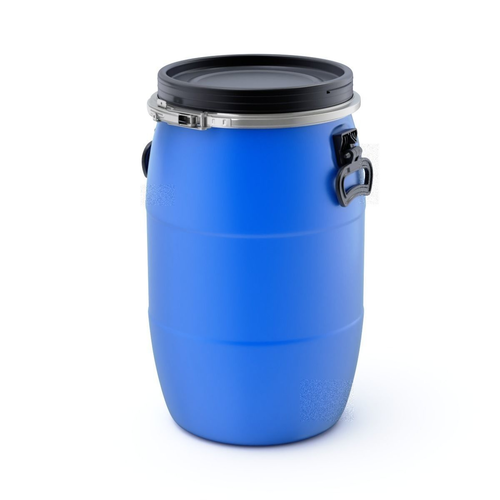 plastic barrel 3d model obj mtl fbx blend 1