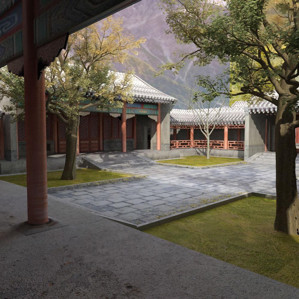 Chinense Quadrangle and Tree