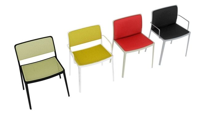 Kartell Audrey Chairs Collection 3D Model