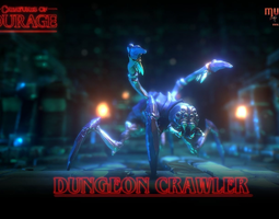 Creatures of Courage - Dungeon Crawler 3D model