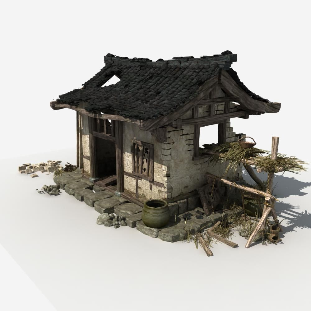 Chinese house model