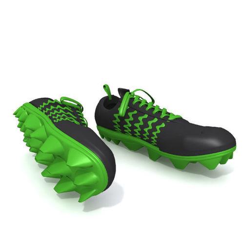football cartoon shoes 3d model max obj mtl fbx ma mb ... d5ddc9111