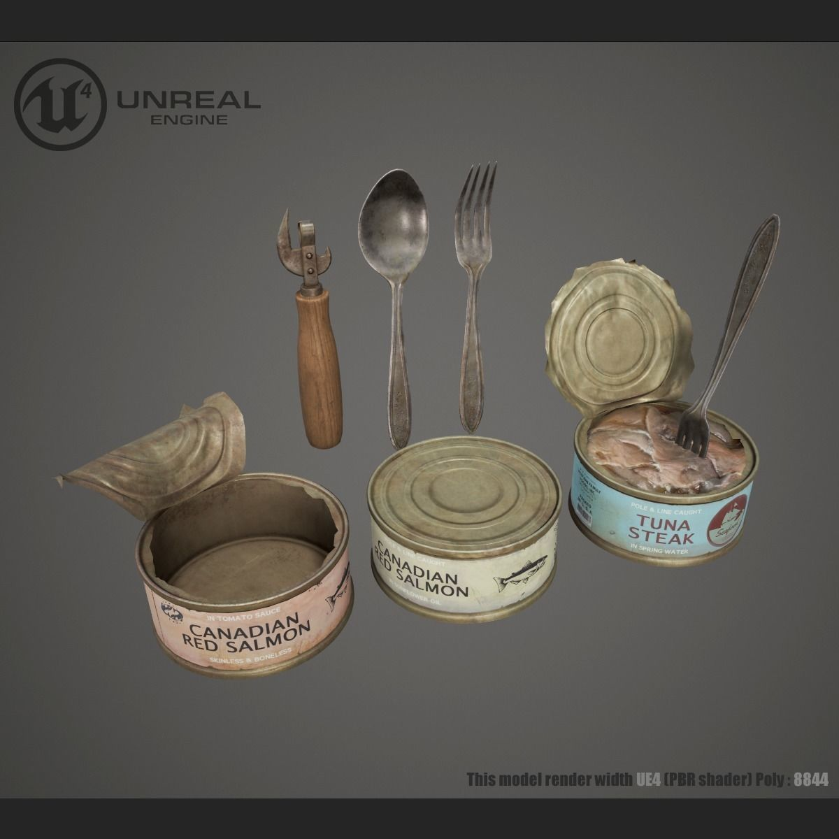 Canned Fish Asset