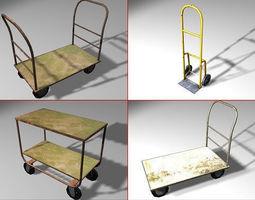3D asset Transport Models