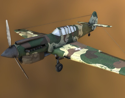 World War 2 Plane 3D asset