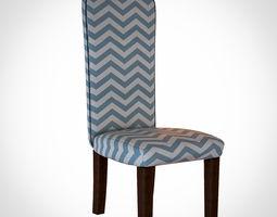 Upholstered chair Brand Homerich 3D model