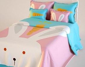 poplin 3D Double Bed Bed Linen