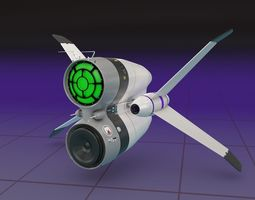 3D Membran Space Ship