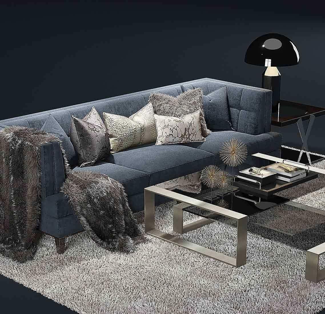 The Sofa And Chair Company Preston Hirst Table Model Max Obj