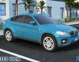 3D model BMW X6 Optimized Car