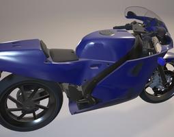 motorcycle Honda VFR 750R 3D