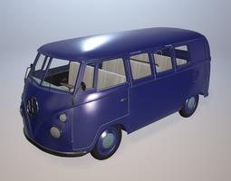 3D Volkswagen Bus