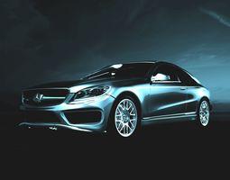 3D model Mercedes-Benz S 500 mod