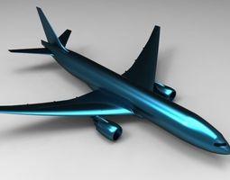 Boing 777 3D