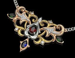 3D print model design Necklaces