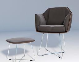 Chair Rolf Benz 641 3D model