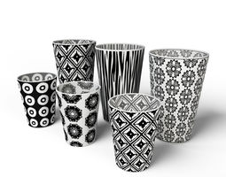 Decor Cup Set 3D