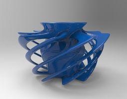 2D Vase 3D print model