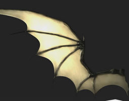 Bat Wing Rigged 3D model