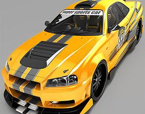 3D car Nissan SkyLine R35